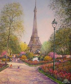 paris - Page 70 Eiffel Tower Painting, Eiffel Tower Art, France Eiffel Tower, Eiffel Towers, Beautiful Paris, Paris Love, Yves Duteil, Francia Paris, Paris Torre Eiffel