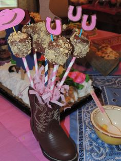"Photo 1 of 26: Western Cowgirl / Birthday ""Katie's CowGirl Party"" 