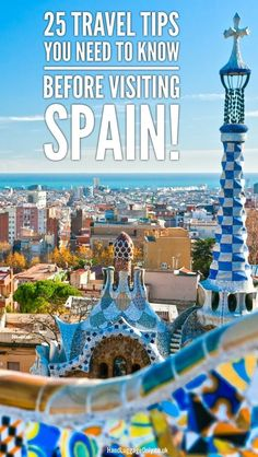 25 Travel Tips You Need To Know Before Visiting Spain - Hand Luggage Only - Travel, Food & Photography Blog