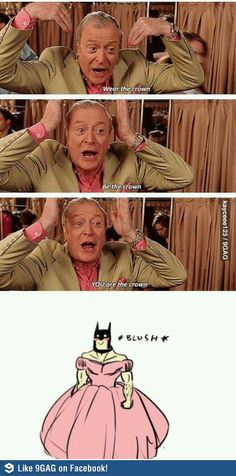 I'm not sure why I find this so funny but the longer I look at it, the funnier it gets. Oh, Batman...