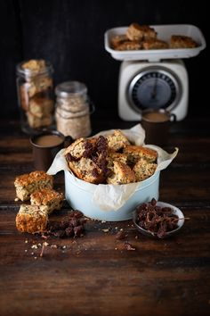 Muesli rusks - a classic South African baked treat with oats