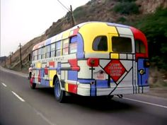 Decorate your house like the outside of the Partridge ... |Partridge Family Bus Pattern