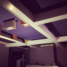 Coffered Ceiling - step by step - Imgur