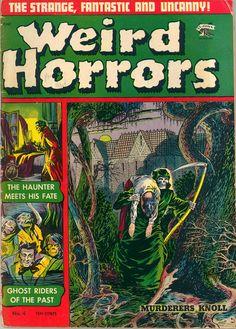ART: Great Horror Comic Book Covers!   Ghost Radio