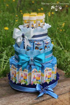 Купить Торт на день рождения в садик и школу. - комбинированный, торт из сока, торт из шоколада