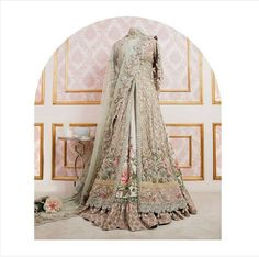 Elan bridal from their champs de patchouli collection Indian Bridal Outfits, Pakistani Wedding Outfits, Pakistani Wedding Dresses, Indian Dresses, Desi Wedding Dresses, Asian Wedding Dress, Elan Bridal, Walima Dress, Engagement Dresses