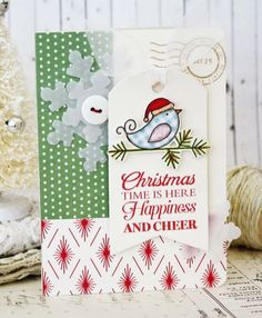 Melissa Phillips: LilyBean's Paperie – Introducing Season's Greetings... - 9/10/14  (PTI stamps: Seasons' Greeting, Tremendous Treats: Christmas, 2010 Holiday Tags; dies: Tag Sale #5, Snowflake Medley)