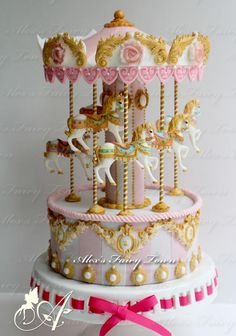 Merry Go Round Cake | Cookie Connection
