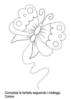 traç - Glòria P - Picasa Web Albums Alphabet Activities, Infant Activities, Drawing For Kids, Line Drawing, Tracing Pictures, Hand Embroidery, Embroidery Designs, Numicon, Tracing Sheets