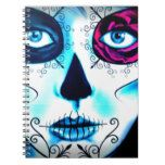 Lovely Lady Notebook #halloween #happyhalloween #halloweenparty #halloweenmakeup #halloweencostume