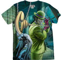 Camiseta de The Riddler en todas las tallas