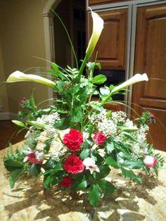 My first arrangement