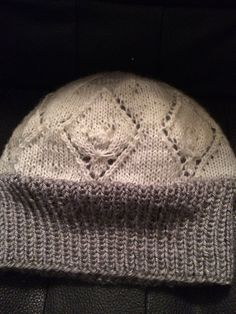 Hat with two layers of warmth. Inner layer is a by Woolycricket