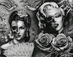 Maria Felix...Marilyn Monroe