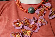 Restyle: Flowers on a t-shirt