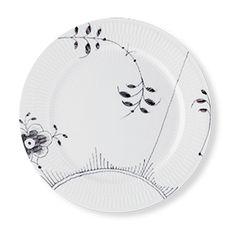 Royal Copenhagen Black Fluted Mega Dinner plate 27 cm - #2