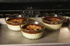 why chefs use a torch for creme brulee and why home cooks don't need to
