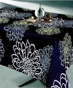Look what I found on #zulily! Black Contempo Tablecloth #zulilyfinds