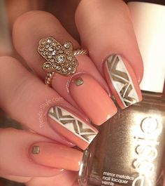 7 Beautiful Nail Designs 2015 - Fashion Te