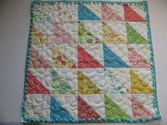 Moda Bake Shop: Charm Party Baby Quilt + Bonus Pillow
