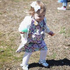 Our sweet February cover girl, Addy, on Easter!
