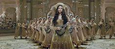 """Deewani Mastani"" from Bajirao Mastani, 2015 | Deepika Padukone | 5 Great, Grand, and Gloriously Choreographed Songs Highlight the Awesomeness of Indian Film | http://www.fallinginlovewithbollywood.com/2016/05/5-great-grand-and-gloriously-choreographed-songs-that-remind-you-of-the-awesomeness-of-indian-film.html"