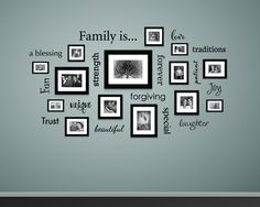 Family is... Wall Decal - Family Decor - Decals for Picture Wall - Gallery Wall Decals