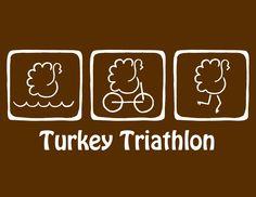 I drew this logo for the St. George Turkey Triathlon.  It was used in their Nov. 2012 race.