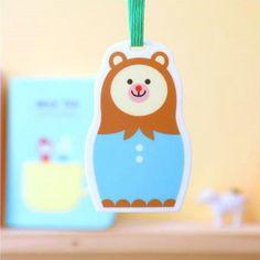 Book Friends - Bear Babushka