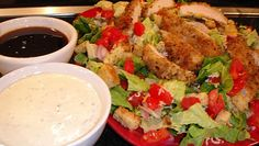 Winger's Sticky Chicken Salad. One my absolute favorites...and now I can make it at home! Yay!