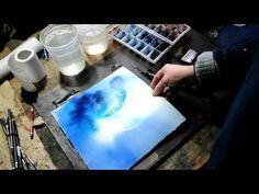 """Le glacis à l'aquarelle - exercice de base """"www.atelieraquarelle.org"""" - YouTube"""