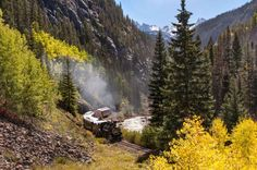 Durango & Silverton Narrow Gauge Railroad, CO Reasons to rail or bust:Historic narration of the area... - Provided by TIME Inc.