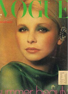 UK Vogue Magazine June 1973