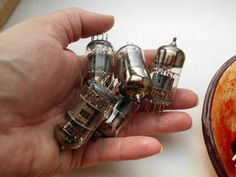 Recycled Scrap Vintage Electronic Vacuum by PLJohnsonGlassArt, $12.00