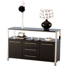 elegant black sideboard buffet sideboards buffet sideboardbuffet table pinterest sideboard buffet buffet and dresser - Black Sideboard Buffet