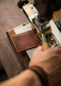 Free Monogrammed Wallet - Ernest Alexander