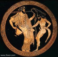 Dionysus - was the great Olympian god of wine, vegetation, pleasure and festivity.