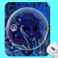 Alien Planet Mouse Pads by SHERRIOFPALMSPRINGS