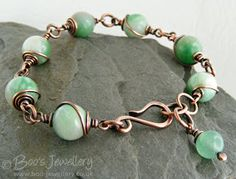 Boo's Jewellery: This week I have mostly been working in copper