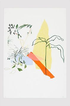 Alicia Galer Tropics Print #anthropologie