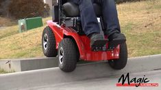 Magic Mobility Wheelchairs - Extreme X8 Off-Road Power Chair