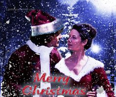 girlhitscar:  Jamie and Claire wishes you a Merry... - Pia