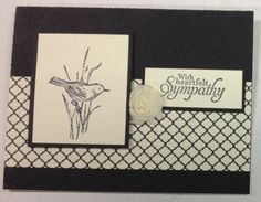 Simply sketched sympathy by skitter - Cards and Paper Crafts at Splitcoaststampers