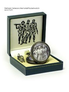 Vietnam Veterans Pocket Watch 279