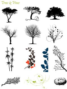 Graphic Themes: Trees | TextStyle Designs