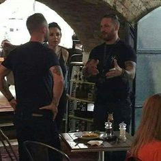 """"""" """"Popped in for a healthy brunch and noticed Tom Hardy was on the next table! Tom Hardy Actor, Tom Hardy Hot, Mad Max Mel Gibson, Oh My Love, Welcome To The Family, Men Looks, Johnny Depp, Beautiful Men, Beautiful People"""