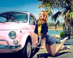 Een wiel wisselen van de Fiat 500 kan ik best zelf | No problem to change a wheel of my Fiat 500