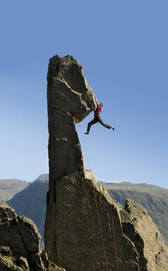 Craig Matteson attempts the 2nd ascent of Phil Rigby's spectacular climb