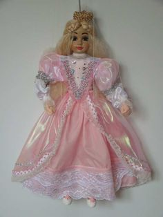 Princess rose, marionette puppet