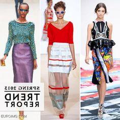 fashion 2014 trends | London Fashion Week Spring Summer 2014 Trends